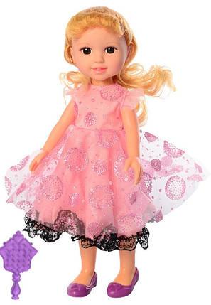 Кукла M 5431 UA 31см, муз(укр) песня, расческа, на батарейках, в кор-ке,18-34-8см, фото 2