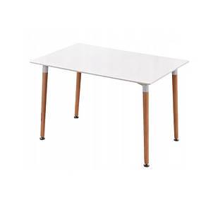 Кухонный прямоугольный стол MDF 120×80 см