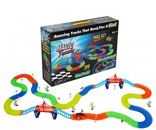 Гоночная трасса Magic Track 220 деталей