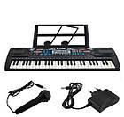 Детский синтезатор Electronic Keyboard 8238 с микрофоном и держателем для нот, фото 2