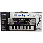 Детский синтезатор Electronic Keyboard 8238 с микрофоном и держателем для нот, фото 6
