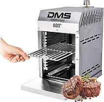 Гриль газовый DMS Beef Maker из нержавеющей стали, температура нагрева до 860 ° C, фото 3