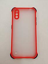Чохол Samsung A01/M01 Armor Frame Red