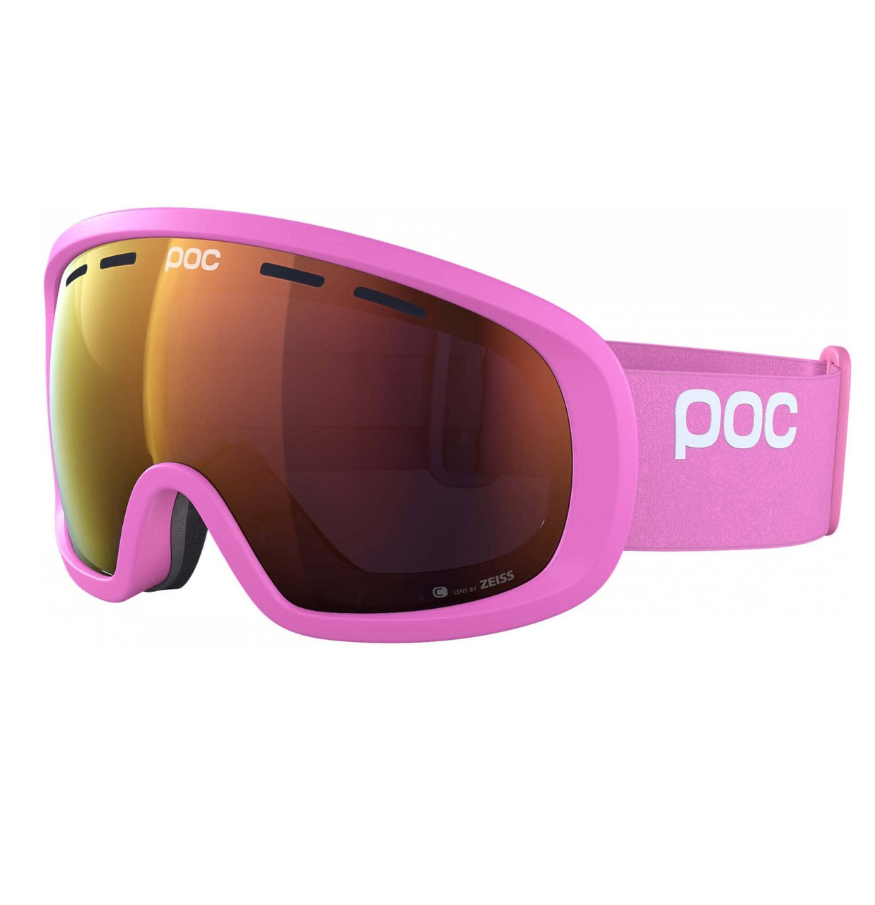 Маска гірськолижна POC Fovea Clarity Actinium Pink/Spektris Orange