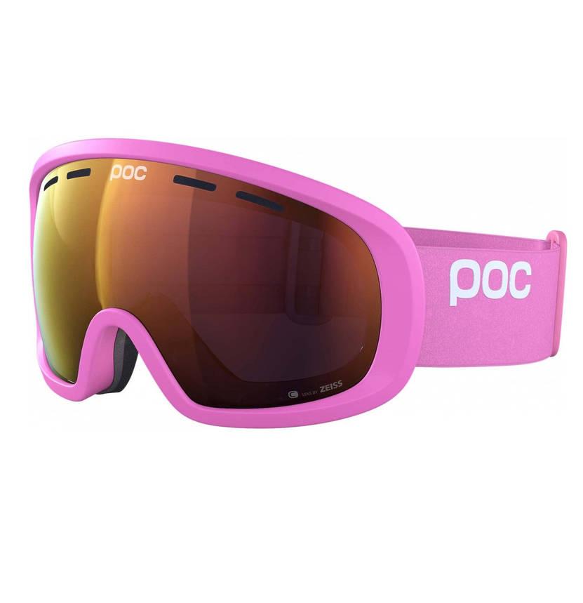 Маска гірськолижна POC Fovea Clarity Actinium Pink/Spektris Orange, фото 2