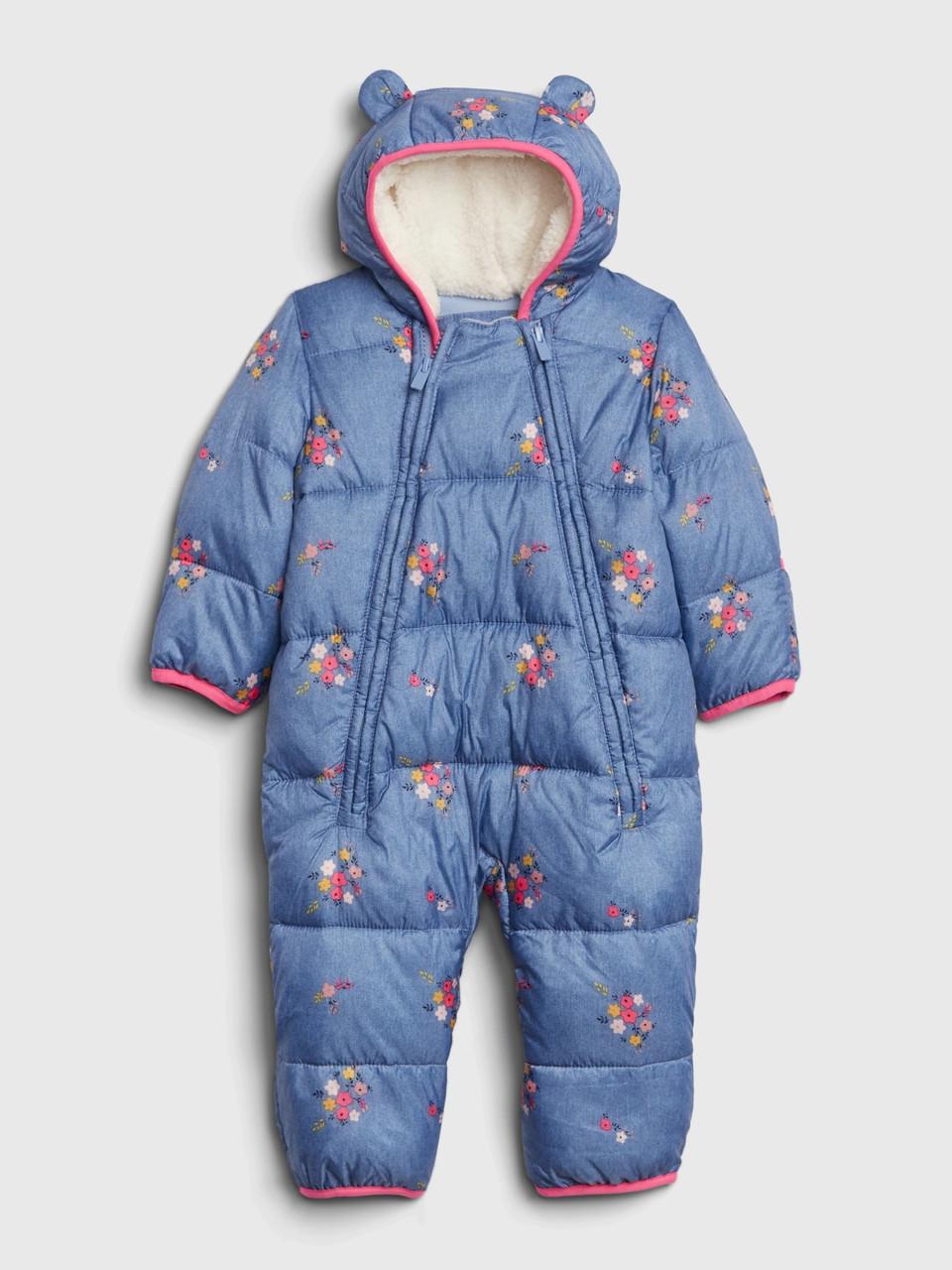 Детский зимний комбинезон-пуховик ColdControl Ultra Max Snowsuit для девочки