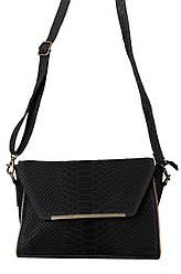 Жіноча шкіряна сумка NITA diva's Bag колір чорний