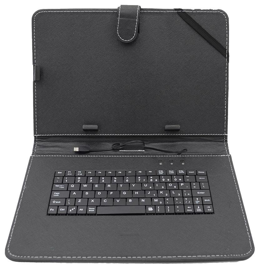 Обложка-чехол для планшета с USB клавиатурой 2Life 10,1 Black (n-221)