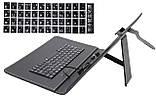 Обложка-чехол для планшета с USB клавиатурой 2Life 10,1 Black (n-221), фото 3