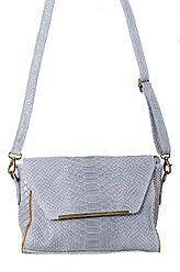 Жіноча шкіряна сумка NITA diva's Bag колір сірий