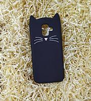 Силиконовый чехол Cat для Samsung A6