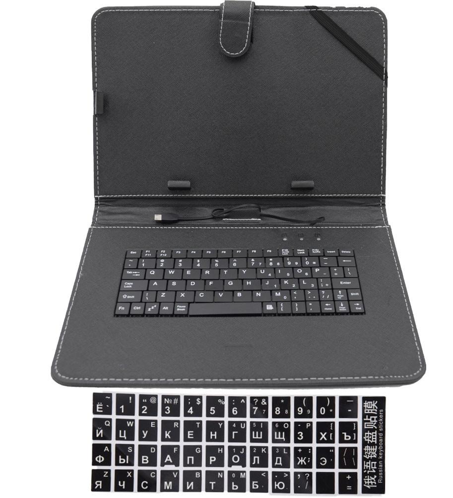 Чехол с клавиатурой для планшетов 10'' VOLRO Черный (vol-761)