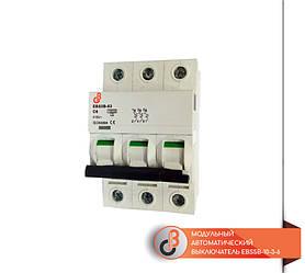 Модульный автоматический выключатель EBS5B-10-3-6