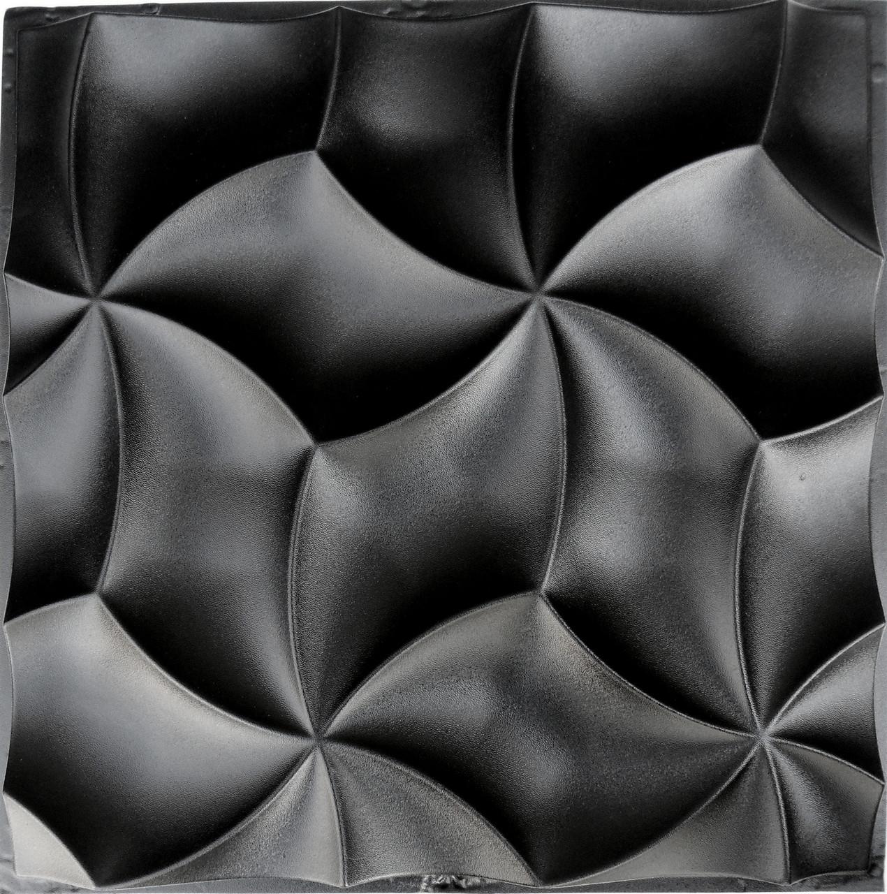 """Форма для 3Д панелей Pixus 3D""""Лепестки"""" 50 x 50 x 2 см"""