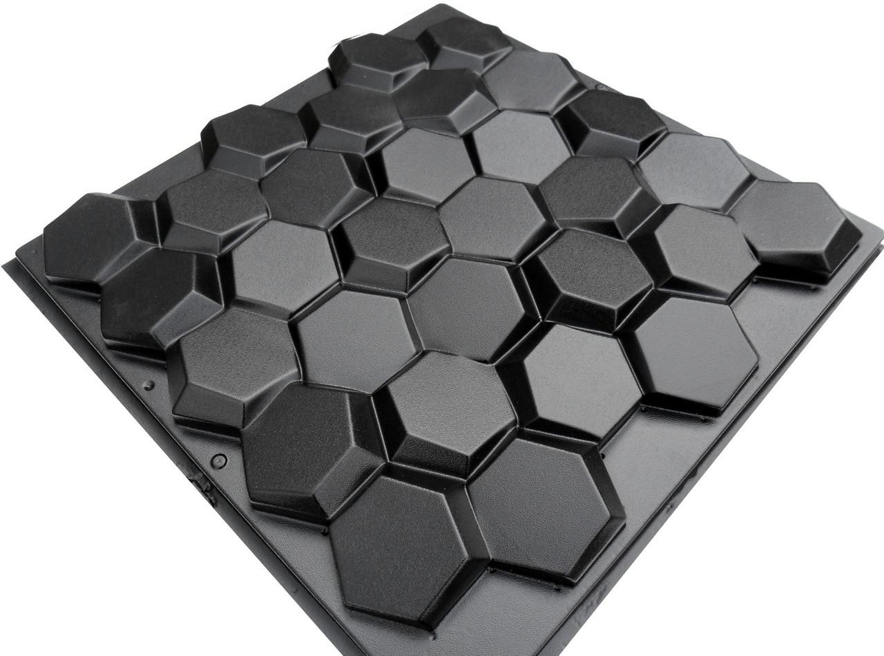 """Форма для 3Д панелей Pixus 3D""""Соты"""" 50 x 45 x 3 см"""