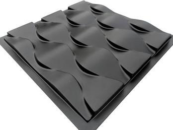 """Форма для 3Д панелей Pixus 3D""""Чешуя"""" 50 x 50 x 3 см"""
