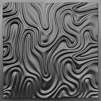 "Форма для 3Д панелей Pixus 3D""Туман"" 50 x 50 x 3 см"