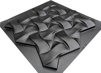 """Форма для 3Д панелей Pixus 3D""""Плетенка"""" 50 x 50 x 3 см"""