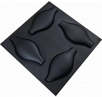 """Форма для 3Д панелей Pixus 3D""""Роса"""" 28 x 14 x 3 см, 4 шт"""