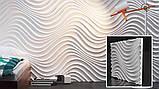 """Пластикова форма для виготовлення 3d панелей """"Санта-Лючія"""" 50*50, фото 4"""