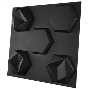"Форма для 3Д панелей Pixus 3D""Битые соты"" 17 x 17 x 3 см, 4шт"