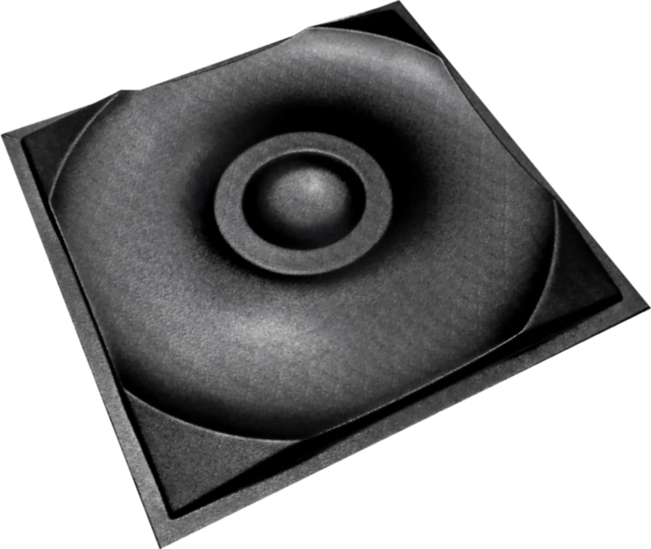 """Пластикова форма для виготовлення 3d панелей """"Кола"""" 50*50"""