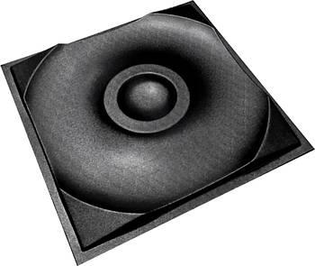 """Форма для 3Д панелей Pixus 3D""""Круги"""" 50 x 50 x 4 см"""