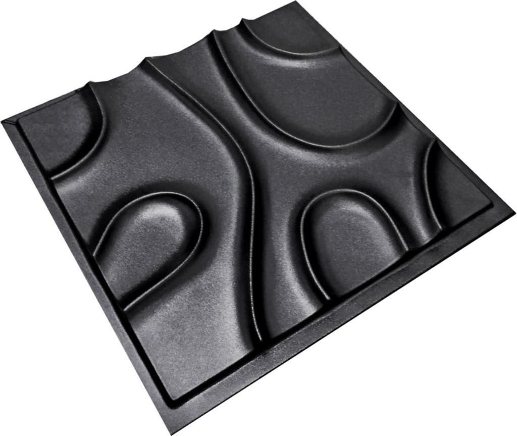 """Пластикова форма для виготовлення 3d панелей """"Шаула"""" 50*50"""