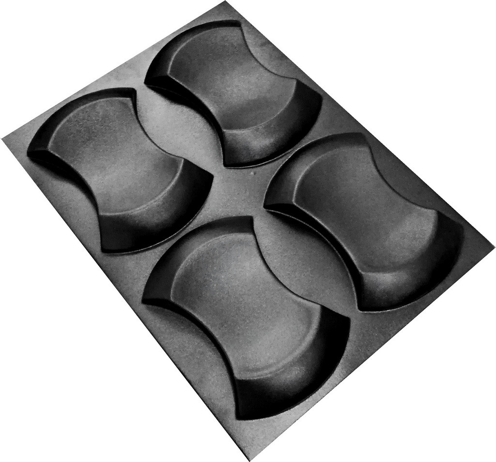 "Форма для 3Д панелей Pixus 3D""Престиж"" 25 x 17 x 3 см, 4шт"