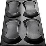 """Форма для 3Д панелей Pixus 3D""""Престиж"""" 25 x 17 x 3 см, 4шт, фото 3"""