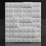 """Форма для 3Д панелей Pixus 3D""""Lego"""" 50 x 50 x 3 см, фото 3"""