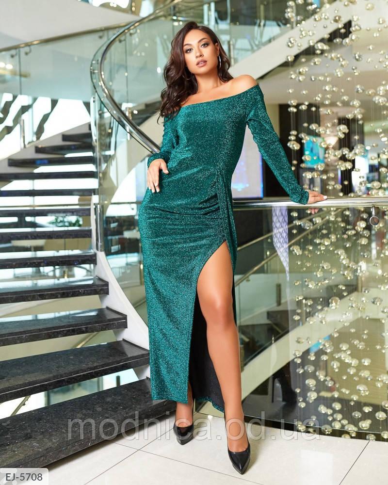 Ефектне блискуче плаття великого розміру, розмір 48-50, 52-54, 56-58