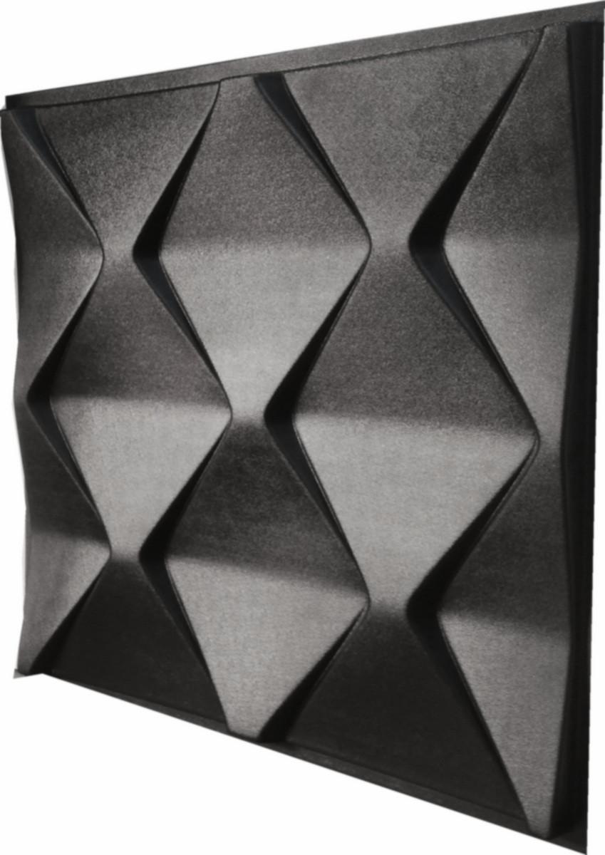 """Пластикова форма для виготовлення 3d панелей """"Піраміди"""" 50*50"""