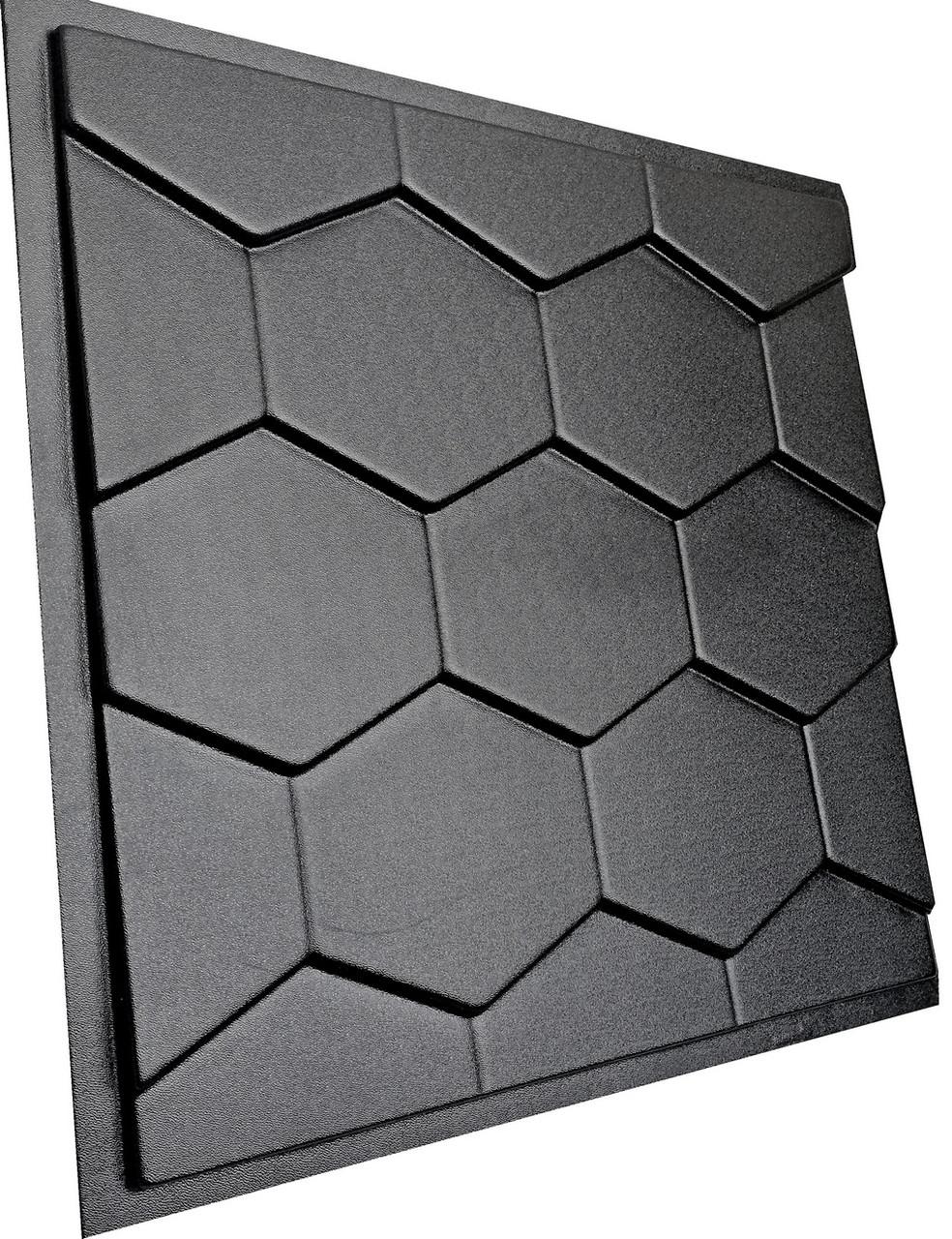 """Пластикова форма для виготовлення 3d панелей """"Roof"""" 50*50 см"""