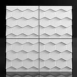 """Пластикова форма для виготовлення 3d панелей """"Roof"""" 50*50 см, фото 4"""