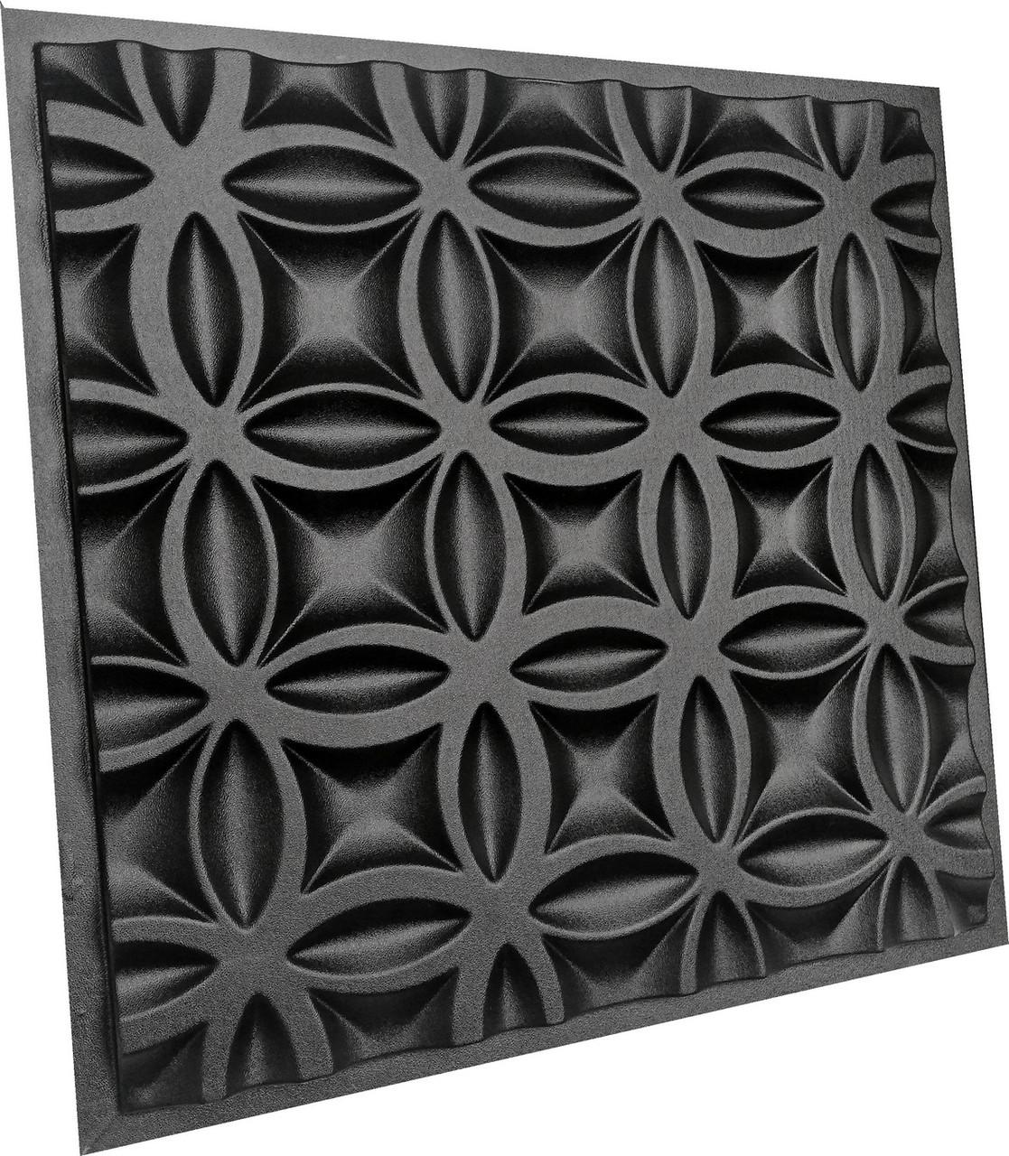 """Пластикова форма для виготовлення 3d панелей """"Bubbl"""" 50*50 см"""
