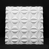 """Пластикова форма для виготовлення 3d панелей """"Bubbl"""" 50*50 см, фото 4"""