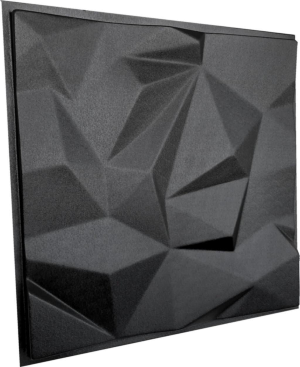 """Пластикова форма для виготовлення 3d панелей """"Гранада"""" 50*50 см"""