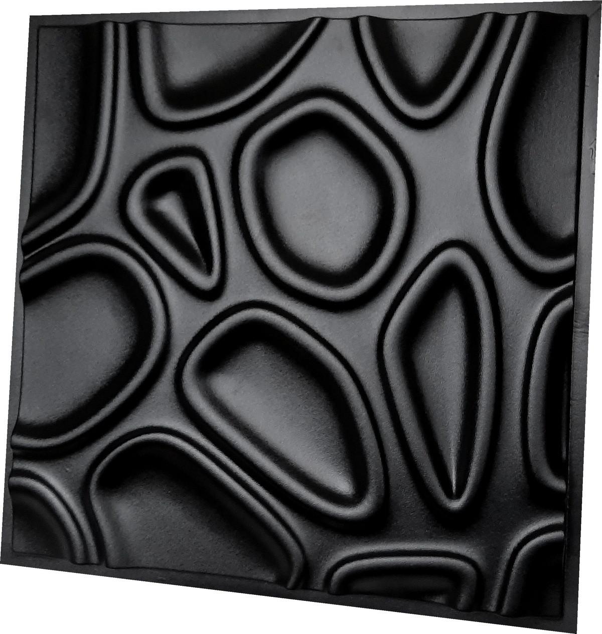 """Пластикова форма для виготовлення 3d панелей """"Capsul"""" 50*50 см"""