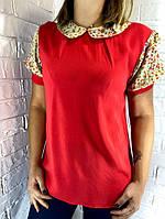 Блуза жіноча червона, фото 1
