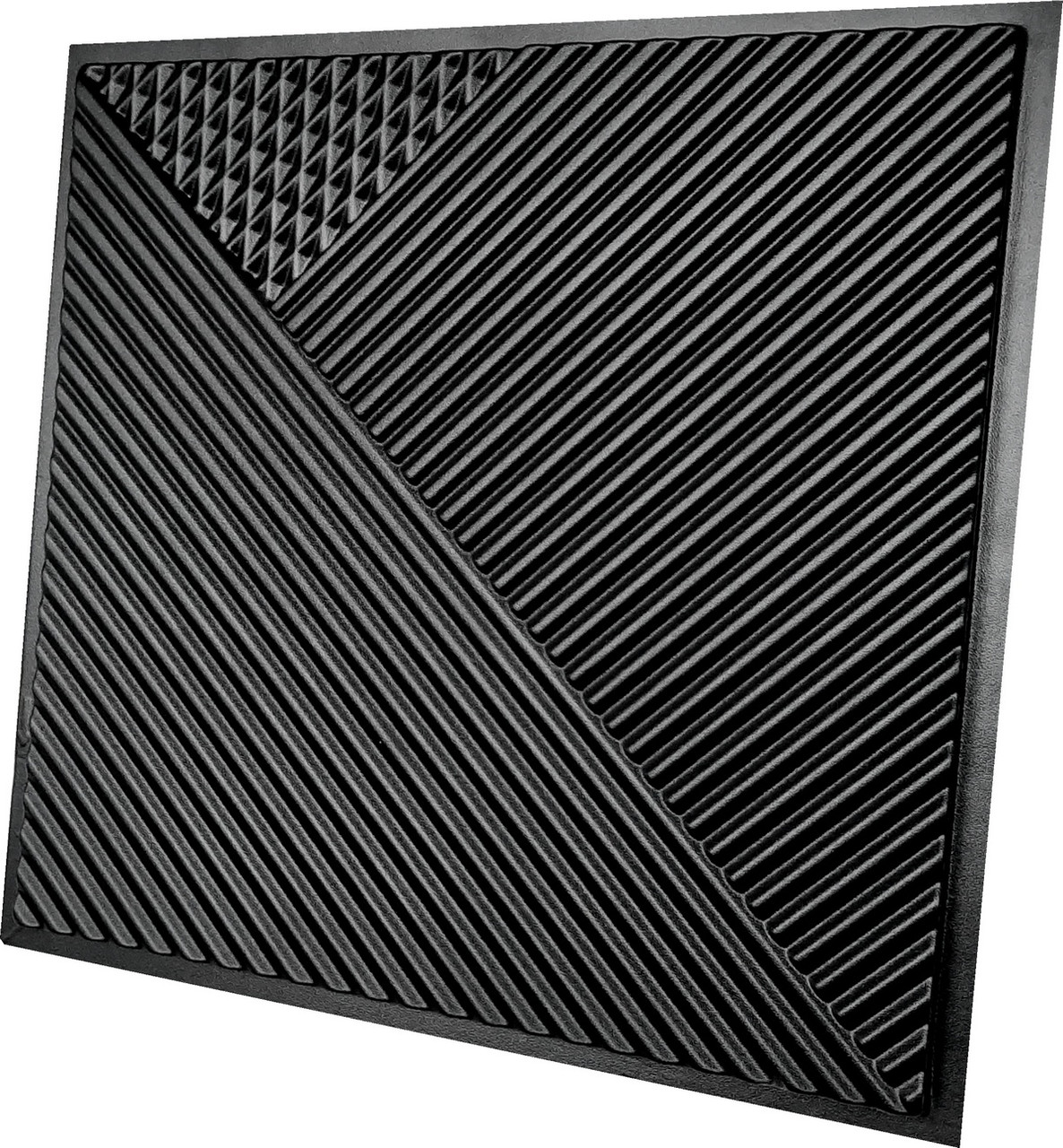 """Пластикова форма для виготовлення 3d панелей """"Поля"""" 50*50 см"""
