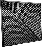 """Пластикова форма для виготовлення 3d панелей """"Поля"""" 50*50 см, фото 2"""