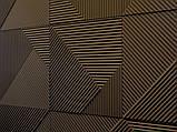 """Пластикова форма для виготовлення 3d панелей """"Поля"""" 50*50 см, фото 4"""
