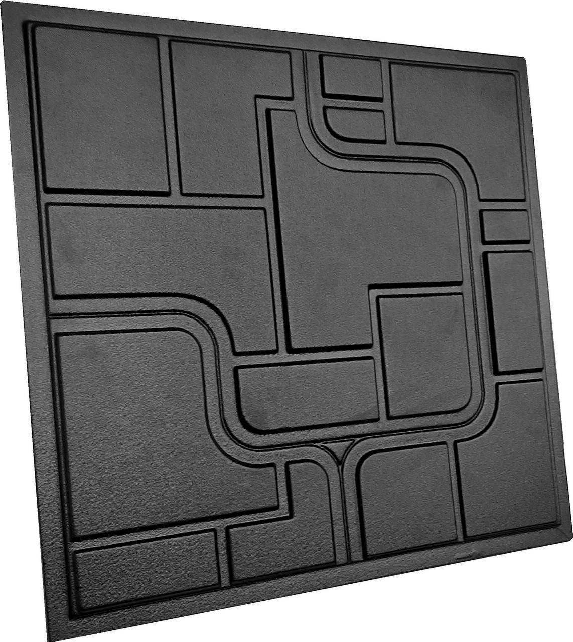 """Пластикова форма для виготовлення 3d панелей """"Space"""" 50*50 см"""