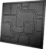 """Пластикова форма для виготовлення 3d панелей """"Space"""" 50*50 см, фото 2"""