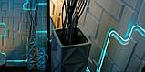 """Пластикова форма для виготовлення 3d панелей """"Space"""" 50*50 см, фото 5"""