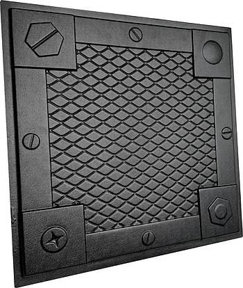 """Форма для 3Д панелей Pixus 3D""""Brutal"""" 50 x 50 x 3 см"""
