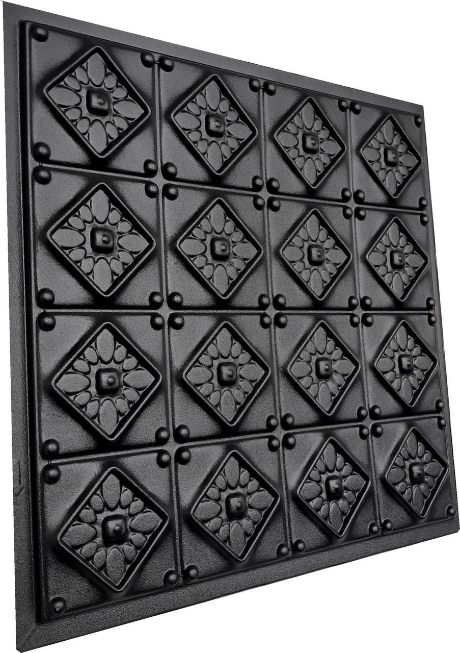 """Пластикова форма для виготовлення 3d панелей """"Elegance"""" 50*50 см"""