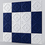 """Пластикова форма для виготовлення 3d панелей """"Elegance"""" 50*50 см, фото 3"""