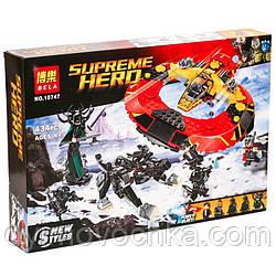 """Конструктор """"SUPER HEROES"""" """"Вирішальна битва за Ас"""